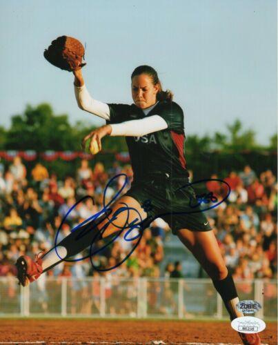 Cat Osterman Autograph Signed 8x10 Photo - Olympic Women's Softball (JSA COA)