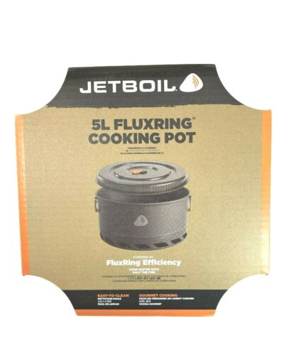 Jetboil 5L Flux Cooking Pot New In Box FREE SHIPPING