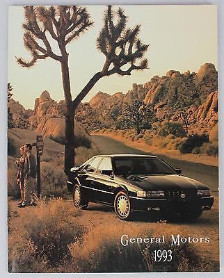 GM 1993 General Motors Sales Brochure / Literature