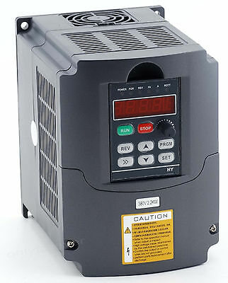 Neu Frequenzumrichter Variable Frequency Drive Inverter VFD 380V 2.2KW CNC