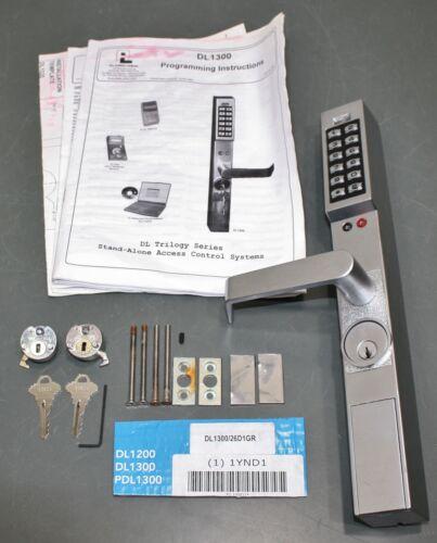 Alarm Lock DL Trilogy Electronic Keyless Entry Kit DL1300/26D1, Narrow Stile