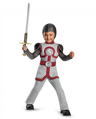 Noble Knight Costume Halloween Renaissance Medieval Warrior Boy's Toddler 4-6 - Noble 6 Costume