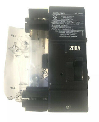New In Box Mbk200a Siemens Circuit Breaker 200amp Same Day Shipping