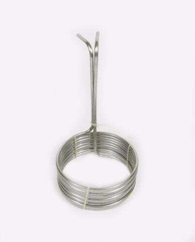 """Wort Chiller, Immersion Type, For Home Brewing and Distilling, 3/8"""" by 25"""