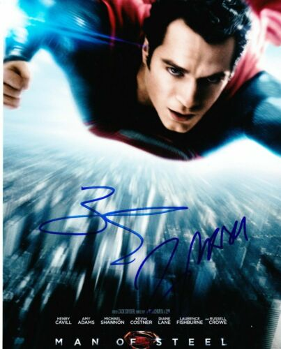 Russell Crowe Zack Snyder ( Superman ) Autographed Signed 8x10 Photo Reprint