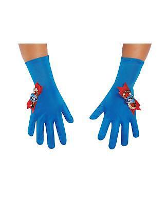 Disney's Snow White Girls Costume Accessory Gloves Blue Child Princess Dress - Snow White Gloves