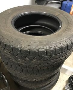285/70/17 4 Tires Yokohama Geolander At/s M+S