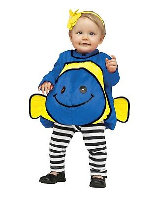 Toddler Infant Baby Blue Fish Finding Dory Nemo Halloween Cosplay Costume 18-24M](Nemo Infant Costume)