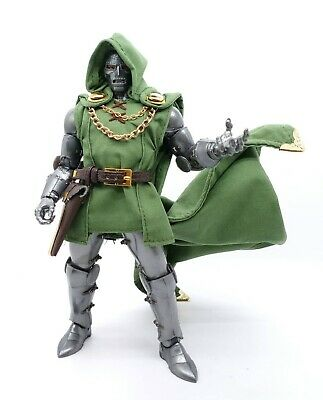 SU-DOM-DLX-GR: Deluxe Fabric Outfit Set for Marvel Legends Dr. Doom (No Figure), used for sale  Shipping to India