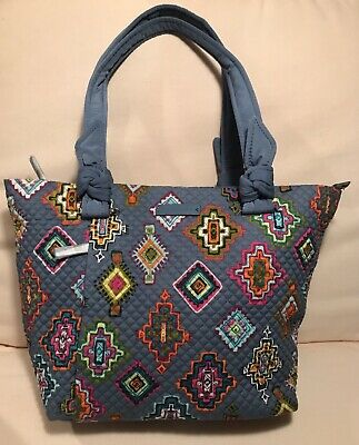 VERA BRADLEY Hadley East West Tote Painted Medallions Bag Satchel 22167-H92 NWT East West Satchel Bag