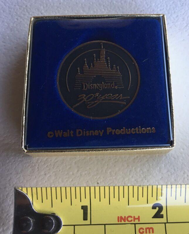 1985 Disneyland 30th Anniversary Commemorative Coin Medallion With Original Box!