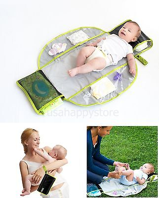 Baby Diaper Changing Pad Travel Kit Portable Waterproof Infant Folding Pocket