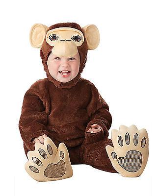 Chimpanzee Monkey Infant Halloween Costume](Monkey Halloween Costumes Babies)