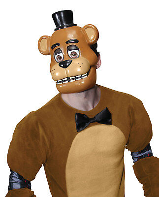 Adult Five Night at Freddy's Bear Horror Halloween Cosplay Costume Face Mask - Bear Halloween Face