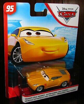 Disney Pixar Cars Rust-Eze Racing Center TRAINER CRUZ RAMIREZ