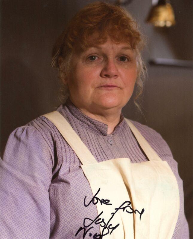 "Lesley Nicol ""Downton Abbey"" AUTOGRAPH Signed 8x10 Photo C"