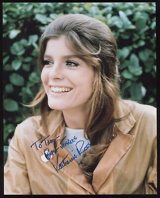 Katharine Ross Signed 8X10 Photo Autographed Photograph Vintage The Graduate