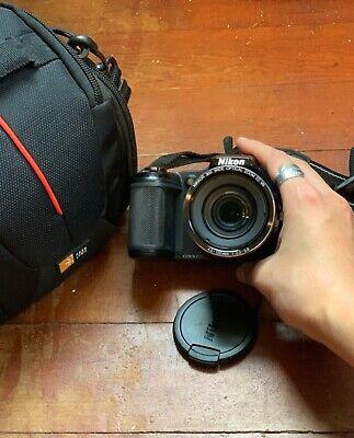 nikon coolpix l820 black digital camera excellent condition fixed wide zoom lens