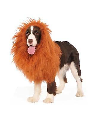 Pet Costume Deluxe Lion Mane Wig Dog Puppy Funny Golden Lab Large Medium Furry