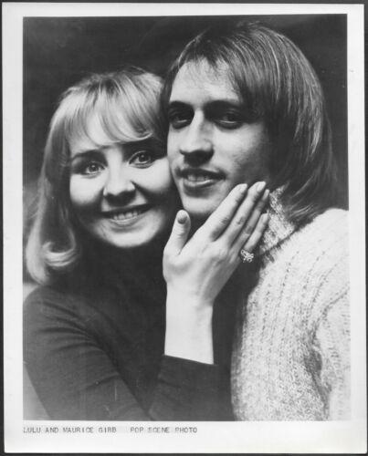 ~ Lulu Maurice Gibb of The Bee Gees Original 1970s Promo Press Photo