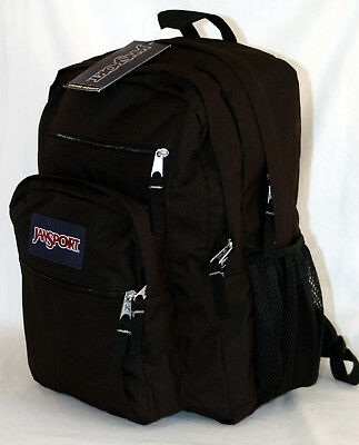 New JanSport Big Student Backpack -- Black