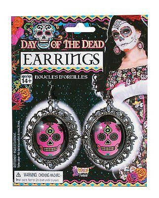 Der Ring Halloween (Tag der toten Ohrringe, Halloween-Abendkleid-Partei-Kostüm-Zusatz #DE)