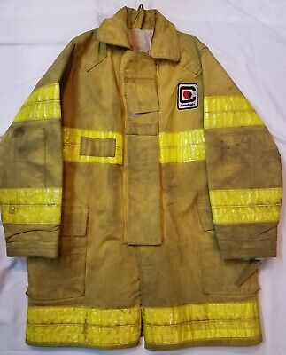 Chieftain Firefighter Turnout Coat Bunker Gear Jacket Size 5456 Fire Protection