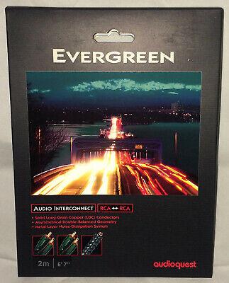 "Audioquest Evergreen Audio Interconnect Cable RCA-RCA 1m/3'4""; -"