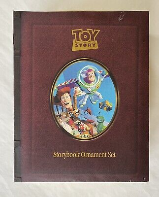Disney's Toy Story Storybook Ornament Set