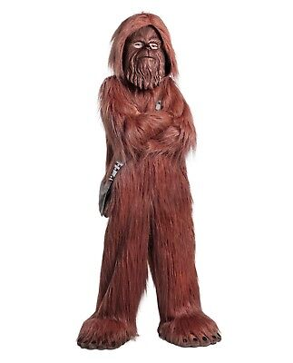 Girls Boys Family Group Child Deluxe Disney Star Wars Chewbacca Wookie Costume](Group Family Costumes)
