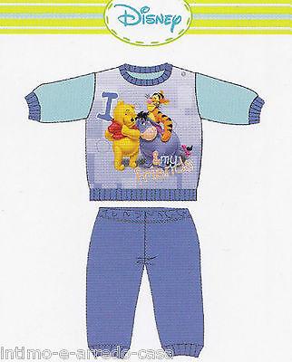 Schlafanzug Mädchen - Bimbo. Longsleeve Lunghe. Heiß Cotone. Disney Baby,Winnie