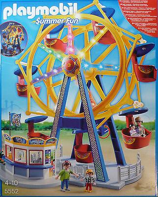 Playmobil®5552 Riesenrad mit bunter Beleuchtung Neu/OVP