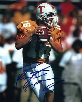 1- PEYTON MANNING TENNESSEE VOLS 8X10 REPRINT AUTO PHOTO