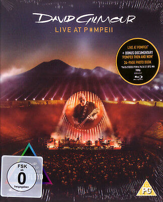 Blu-Ray (NEU!) . DAVID GILMOUR (Pink Floyd) - Live at Pompeii (Live Money mkmbh