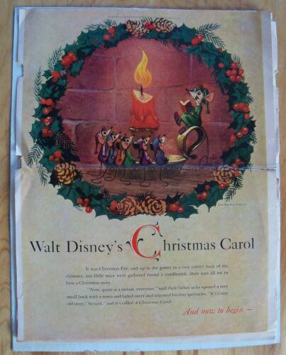 SUPER RARE! WALT DISNEY'S CHRISTMAS CAROL - 1957