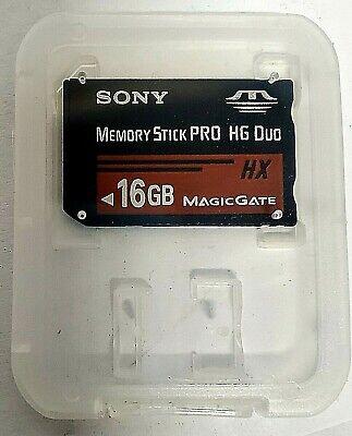 Sony 16GB MS Memory Stick Pro Duo Pro-HG HX Series 50MB/s MS-HX16G 16G (Sony Memory Stick Pro Hg Duo Hx)