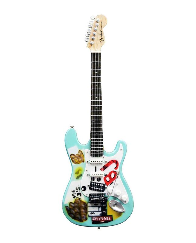 Billie Joe Armstrong Mini Guitar Model BLUE Replica Collectible Green Day Gift