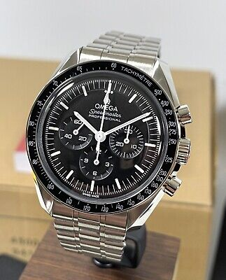 NWT 2021 Omega Speedmaster Professional Moonwatch 310.30.42.50.01.001 Box/Papers