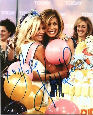 Kathie Lee Gifford   Hoda Kotb Dual Signed Autographed Today Show 8X10 Photo B