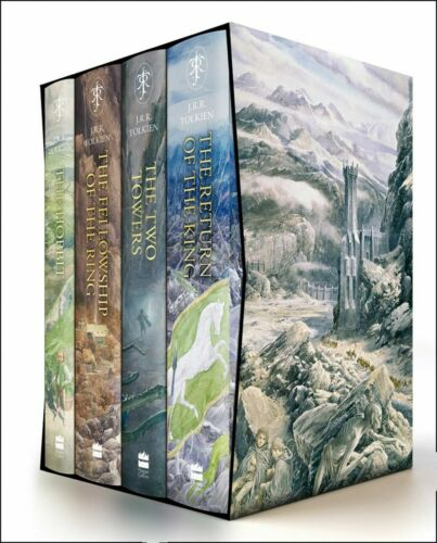 The Hobbit & The Lord of the Rings Boxed Set Hardcover edition by J.R.R. Tolkien