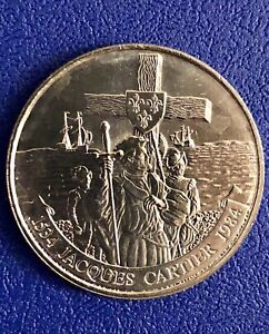 (20) 1984 Uncirculated Canada 1$ Dollar Coins - Jacques Cartier