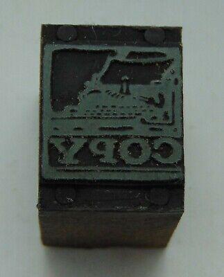 Printing Letterpress Printers Block Copy Typewriter