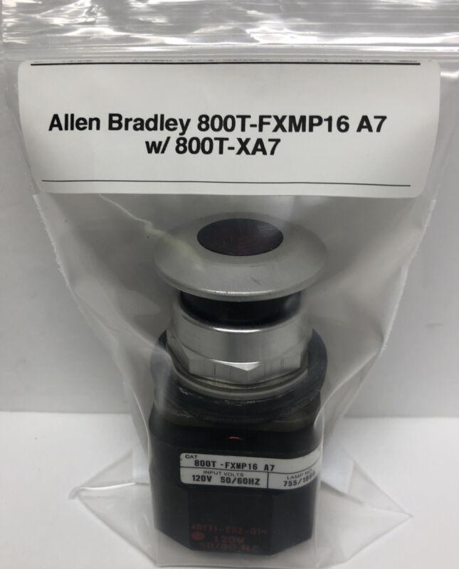 Allen Bradley 800T-FXMP16 A7 w/ 800T-XA7