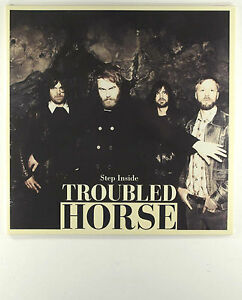 Troubled-Horse-Step-Inside-Ltd-Edtn-Red-Vinyl-only-300-pressed-New-Sealed