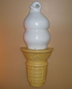 1/2 Ice Cream  Soft Serve  43 inch tall 17