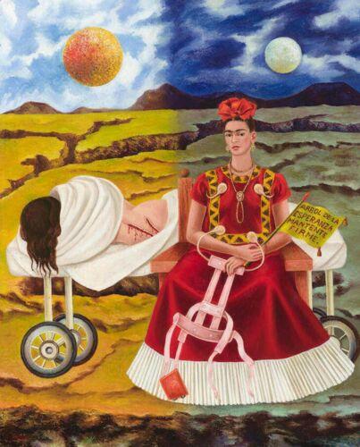 Print -   Frida Kahlo Tree of Hope, Remain Strong, 1946 by Frida Kahlo
