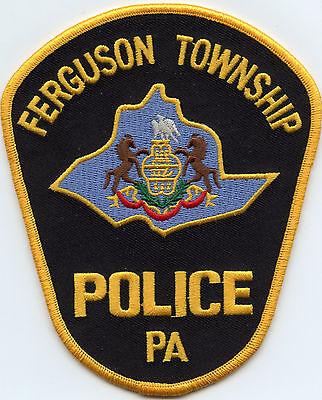 FERGUSON TOWNSHIP PENNSYLVANIA PA POLICE PATCH