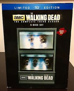 The Walking Dead Limited Ed. Season 3 Blu-Ray