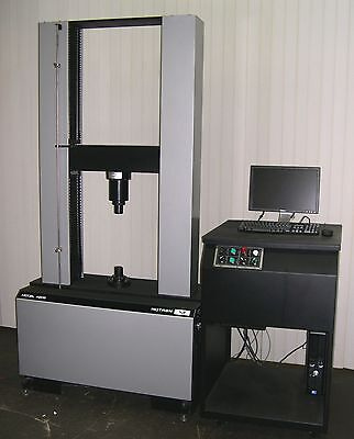 Retrofitted 30k Instron Model 4206 Tensile Compression Yield Tester Pc Control