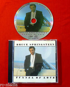 BRUCE-SPRINGSTEEN-Tunnel-Of-Love-Rare-Original-UK-Picture-disc-CD